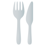 Fork and Knife on EmojiOne 4.0