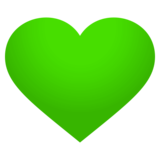 Green Heart on JoyPixels 4.0