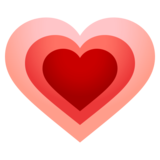 Growing Heart on EmojiOne 4.0