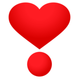 Heart Exclamation on JoyPixels 4.0
