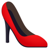 High-Heeled Shoe on JoyPixels 4.0