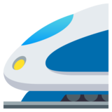 High-Speed Train on JoyPixels 4.0