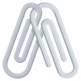 Linked Paperclips on JoyPixels 4.0