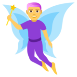 Man Fairy on JoyPixels 4.0