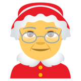 Mrs. Claus on JoyPixels 4.0