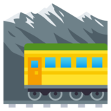 Mountain Railway on JoyPixels 4.0