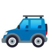Sport Utility Vehicle on JoyPixels 4.0