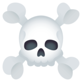 Skull and Crossbones on EmojiOne 4.0