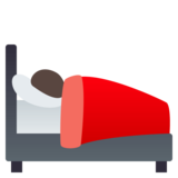 Person in Bed on JoyPixels 4.0