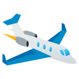 Small Airplane on JoyPixels 4.0