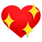 Sparkling Heart on EmojiOne 4.0