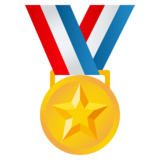Sports Medal on JoyPixels 4.0