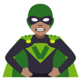 Supervillain: Medium Skin Tone on JoyPixels 4.0