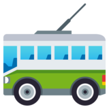 Trolleybus on JoyPixels 4.0