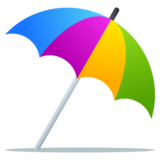 Umbrella on Ground on JoyPixels 4.0