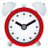Alarm Clock on JoyPixels 4.5