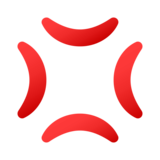 Anger Symbol on JoyPixels 4.5
