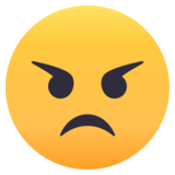 Angry Face on JoyPixels 4.5