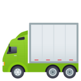 Articulated Lorry on JoyPixels 4.5