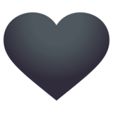 Black Heart on JoyPixels 4.5