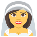 Person With Veil on JoyPixels 4.5