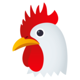 Chicken on JoyPixels 4.5