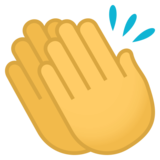 Clapping Hands on JoyPixels 4.5