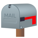 Closed Mailbox With Lowered Flag on JoyPixels 4.5