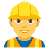 Construction Worker on JoyPixels 4.5