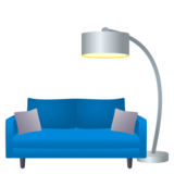Couch and Lamp on JoyPixels 4.5