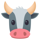 Cow Face on EmojiOne 4.5