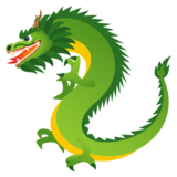 Dragon on JoyPixels 4.5