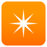 Eight-Pointed Star on JoyPixels 4.5