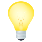 Light Bulb on JoyPixels 4.5