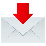 Envelope with Arrow on JoyPixels 4.5