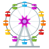 Ferris Wheel on JoyPixels 4.5