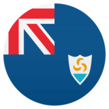 Flag: Anguilla on JoyPixels 4.5