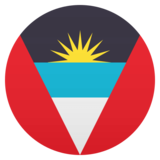 Flag: Antigua & Barbuda on JoyPixels 4.5