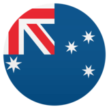Flag: Australia on JoyPixels 4.5