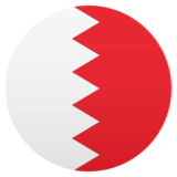 Flag: Bahrain on JoyPixels 4.5