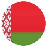 Flag: Belarus on JoyPixels 4.5