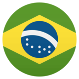 Flag: Brazil on JoyPixels 4.5