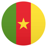 Flag: Cameroon on JoyPixels 4.5