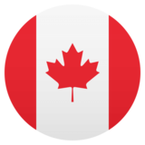Flag: Canada on JoyPixels 4.5
