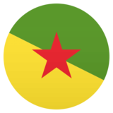 Flag: French Guiana on JoyPixels 4.5