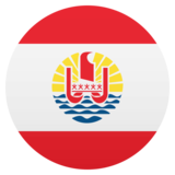 Flag: French Polynesia on JoyPixels 4.5