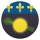 Flag: Guadeloupe on JoyPixels 4.5