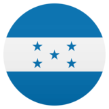 Flag: Honduras on JoyPixels 4.5