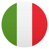 Flag: Italy on JoyPixels 4.5