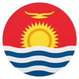 Flag: Kiribati on JoyPixels 4.5